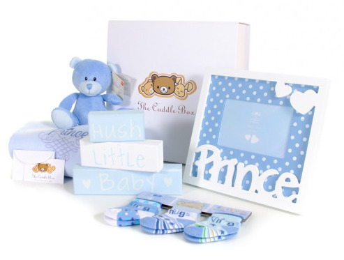 baby boy gift box for £35
