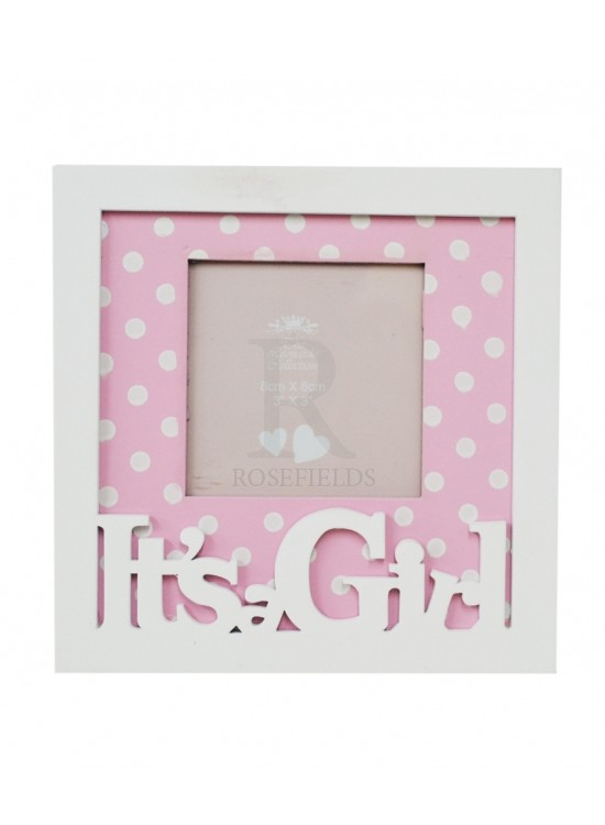 pink baby photoframe