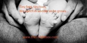 Tiny feet, tiny toes